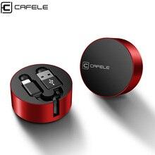 Cafele USB кабель для iPhone X Xs Max Xr 8 7 6 6s Plus выдвижной 8 Pin usb кабель для зарядки провод Дата кабель синхронизации 90 см портативный