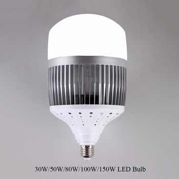 High Power 30W 50W 80W 100W 150W LED Bulb Light E40 E27 LED Lamp High Bright LED for Warehouse Engineer Square - DISCOUNT ITEM  42% OFF All Category