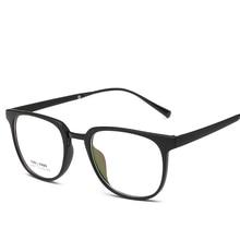 Laura Fairy Fashion Men Brand Optical Frame TR90 Light Weight Eye Glasses Frame Square Eyeglasses Frame oculus 2017 New