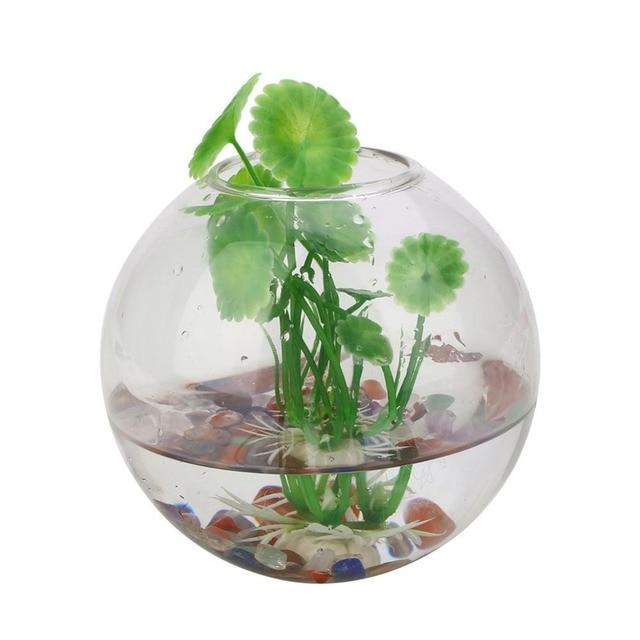 10cm Wall Hanging Glass Vase Aquarium Flower Glass Vase Terrarium