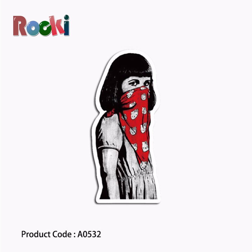 Naruto stickers comic blood perseverance toys for children waterproof suitcase box laptop guitar luggage lovely colorful a0530