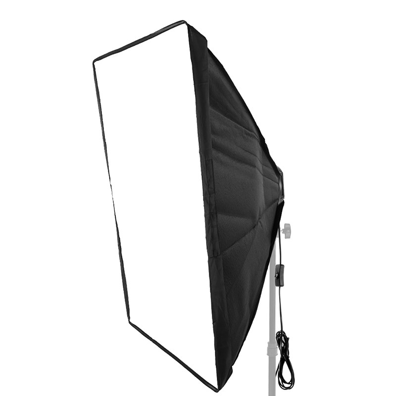 Softbox Light Kit 50x70cm Photo Studio Tent with Single Lamp Holder for E27 Continuous Lighting Photographic Equipment