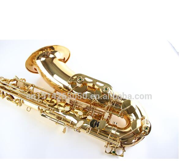 MARGEWATE Saxophone Copy Mark VI Alto Tenor Saxophone, Bb / Eb Tenor Gold Sax with case,mouthpiece,glove,reeds,straps цена