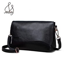 Genuine Cow Leather Crossbody Ladies Hand Bags For Women Sof