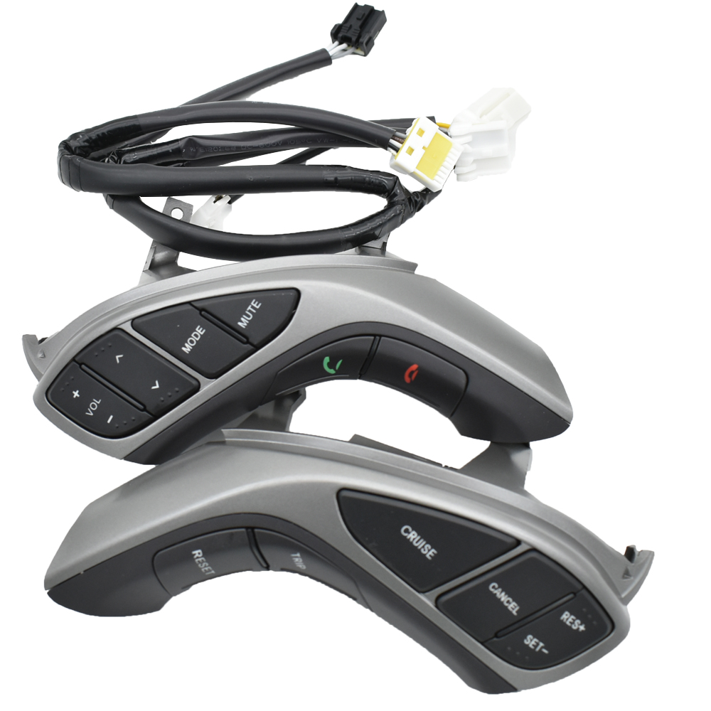 For Hyundai Elantra 2012 2013 2014 Manual Transmisssion Multifunction Steering wheel button Bluetooth Audio and cruise
