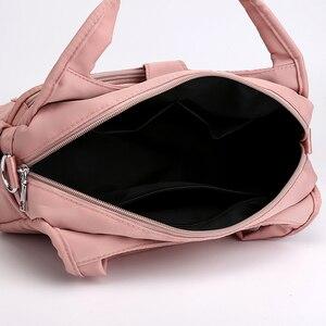 Image 5 - KVKY bolsas de mensajero de hombro para mujer, Bolsos cruzados Oxford impermeables, Bolsos De Mujer, Bolsos de momia