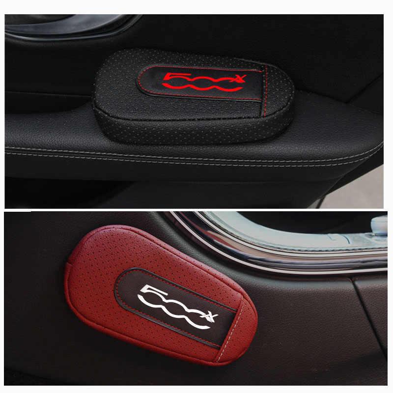 Stijlvolle En Comfortabele Been Kussen Knie Pad Armsteun Pad Interieur Auto Accessoires Voor Fiat 500X