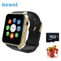 bewot Smart watch GT88 Smartwatch MT2502C with SIM Card Wristwatch for iOS Android Heart Rate Monitor pk GV18 M88 GW01