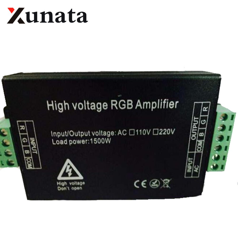 110V 220V 1500W led RGB amplifier Signal repeater , FREE SHIPPING110V 220V 1500W led RGB amplifier Signal repeater , FREE SHIPPING
