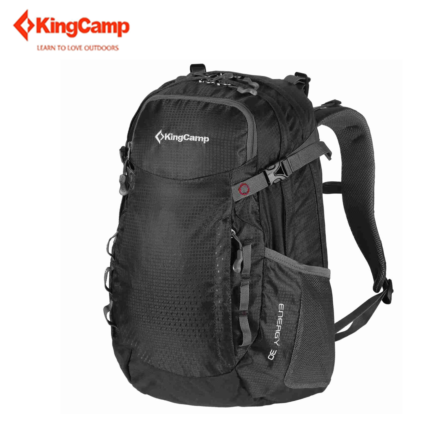 KingCamp ENERGY Outdoor Hiking Clambing Travelling Backpack with Adjustable Strap Belt 30L Waterproof Outdoor Camping Bag kingcamp moon 30