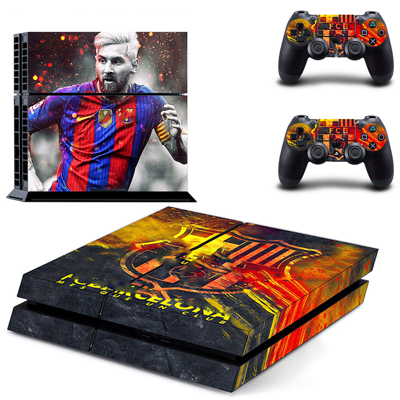 HOMEREALLY Stickers PS4 Skin 2018 World CUP PVC HD Sticker Cover For Sony Playstation4 Console and Controller Skin Ps4 Accessory