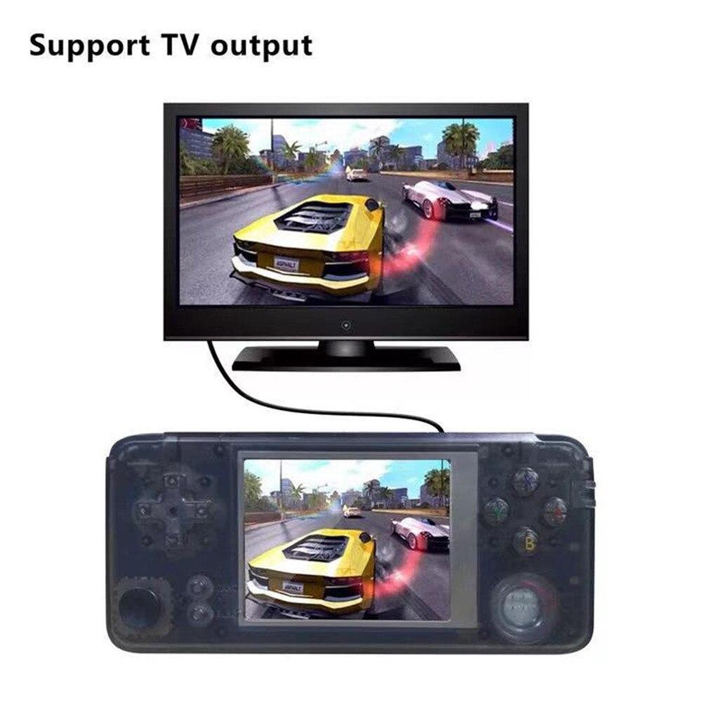 Retro Clássico Jogo Handheld Console Jogador 16 GB 3.0 polegada IPS HD Tela de 3000 Jogos De Vídeo Mini Controlador Com Rocker jogador do jogo - 3