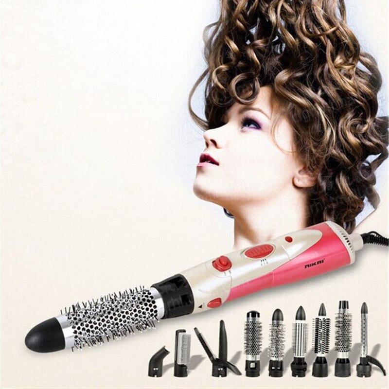 Fer négatif multi-fonction lisseur cheveux peigne Curling droit sèche-cheveux rouleaux cheveux bâtons livraison gratuite