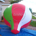 AO32 3m PVC inflatable balloon sky helium balloon/airplane for advertising events/giant flying advertising balloon with you logo