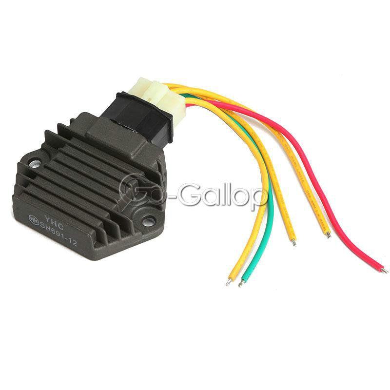 Voltage Regulator Rectifier For Honda Cb250 Cb400 Cb600 Cbr 600 900 F2 F3 1100xx Vt250: Honda Vt250f Wiring Diagram At Hrqsolutions.co