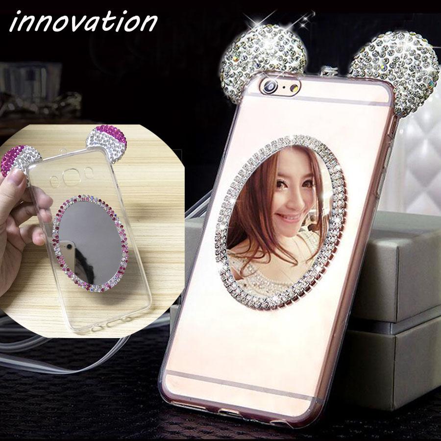 HTB1XN5.SFXXXXczXFXXq6xXFXXX4 - Luxury Crystal Mirror Glitter Rhinestone Mickey Ears Phone Cases PTC 179