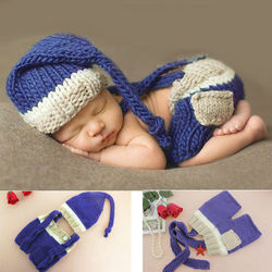 New coming baby photo accessories cotton material hat shorts 2pcs set newnorn baby photagraphy props dark.jpg 250x250