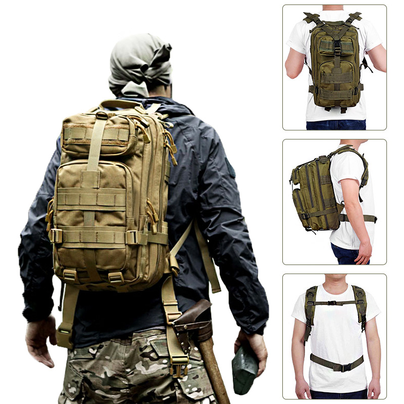30L Military Tactical Assault Backpack Army Waterproof Bug Outdoors Bag Large For Outdoor Hiking Camping Hunting Rucksack Bags