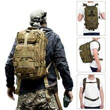 Mochila de asalto táctico militar de 30L, bolsa impermeable para exteriores, para senderismo, Camping, caza