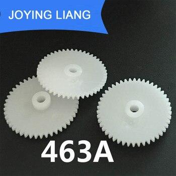 463A 0.5M 46 Teeth 3mm Shaft Tight Pom Plastic Pinion Gear Toy Model Gear (1000pcs/lot)