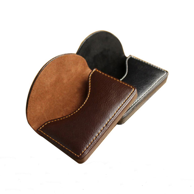 1pc solid color men business card holder pu leather cardholder for 1pc solid color men business card holder pu leather cardholder for plastic paper cards credit card reheart Choice Image