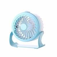 Adjustable Mini Cool Fan With Spray Cute Fan Fast Cooling Dual Wind Types USB Charging Fan