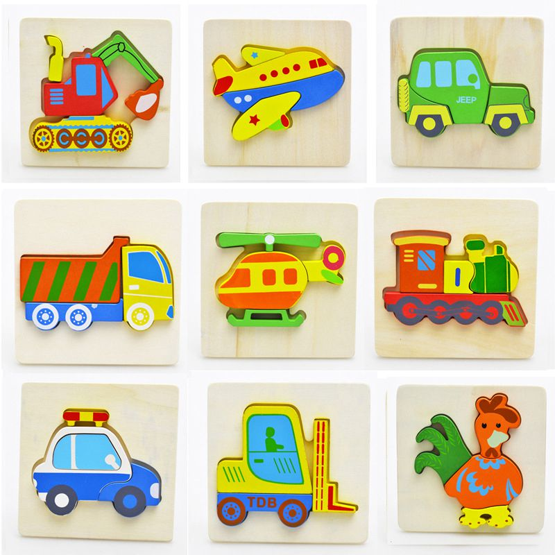 Little kids Wooden Toy Game Children Puzzles learning ...