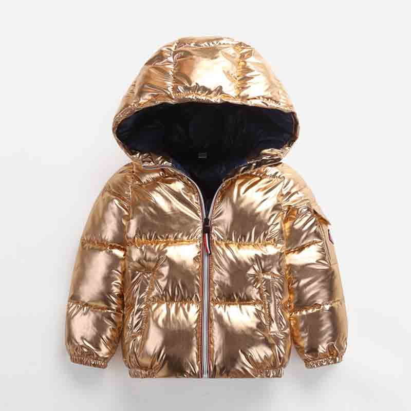 BibiCola Boys Winter Coat Girls Down Jacket Kids Warm Outerwear Children Coat 2018 Fashion Clothing Thicked Hooded boys winter coat baby girls jacket kids warm outerwear children coat 2018 fashion spring children clothing girls hooded jacket