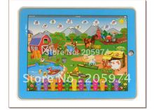 Farm in a Tablet Toy Y-pad Table computer handle farm kids english learning machine educational toys for children