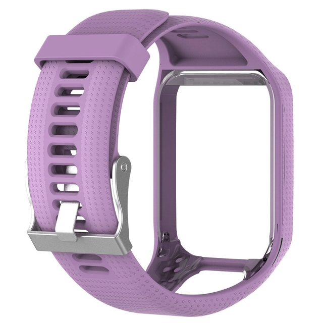Offre spéciale bracelet de remplacement en Silicone pour TomTom Runner 2 3 Spark 3 montre GPS