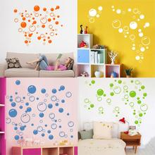 Lovely Bubble Wall Art Bathroom Window Shower Tile Decoration Decal Kid Sticker Blue/Orange/White