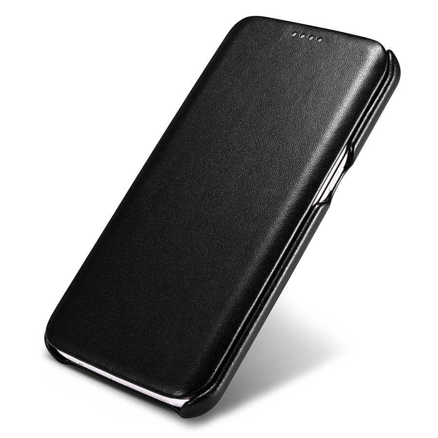 Original icarer cuero genuino de lujo case para samsung galaxy s7/s7 edge ultra