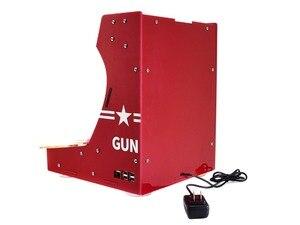 Image 5 - Arcade 101 1P набор аксессуаров аркадная машина строительный набор на основе Raspberry Pi 10,1 дюйма IPS экран + 17 аксессуаров