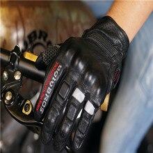 Бесплатная доставка uglyBROS перфорированные кожаные перчатки перчатки мотоцикла кожаные перчатки Seasons Пару Перчаток