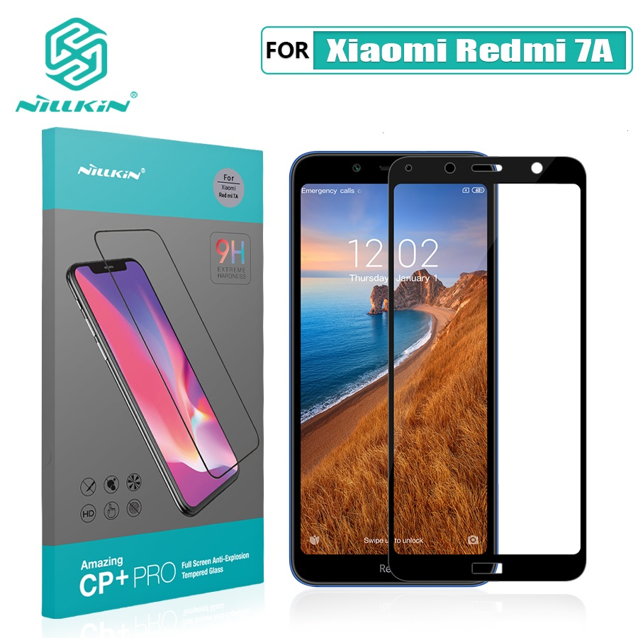 Redmi 7A Glas Screen Protector NILLKIN Erstaunlich H/CP + 9H 0,3mm für xiaomi redmi 7a Gehärtetem Glas screen Protector 2.5D 5,45''