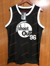 Birdie #96 Shoot Out Above The Rim Movie Tupac Shakur Basketball Jersey – Black