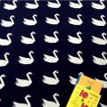 1 Piece Baby Blanket 90cm*110cm Black White Swans Duplex Knitting Blankets For Children Warm Bath Towels Play Mat Gifts For Kids