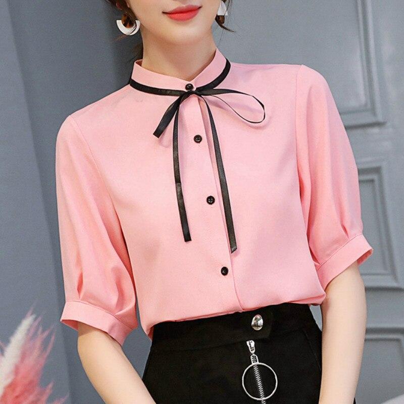 Korobov New Spring Autumn Women Blouse Vintage V-neck Work Shirts Office Ladies Long Sleeve Tops Vertical Striped Blouses 36777 Women's Clothing