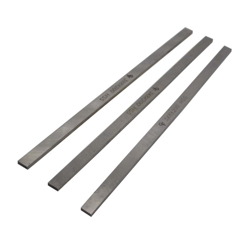 HSS Steel Plate Sheet Turning Tool 3mm X 8mm X 200mm High Speed Steel Rectangular HSS Bar Lathe Tool CNC Milling Cut
