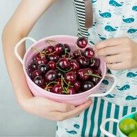 New Creative High Quality European Style Fruit Plate Fruit Basket Fruit Bowl Big Storage Basket Large Scale Marca Color