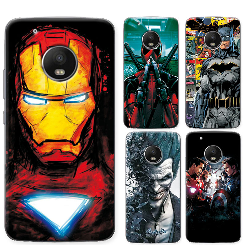 for motorola moto g5 phone case cover charming marvel avengers iron man soft tpu fundas for moto. Black Bedroom Furniture Sets. Home Design Ideas