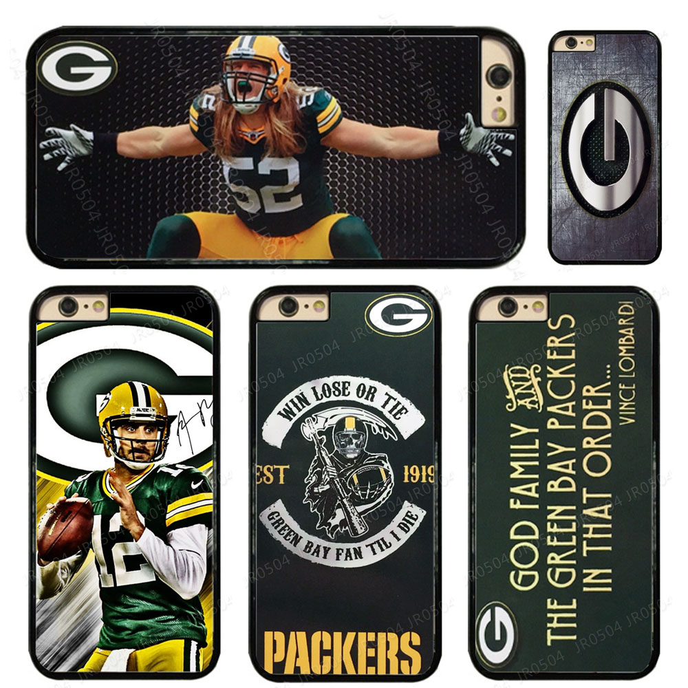 Aaron Rodgers PC+TPU Edge Phone Case For iphone XS MAX XR X SE 5c 6s 7 8 Plus Samsung s5 s6 s7