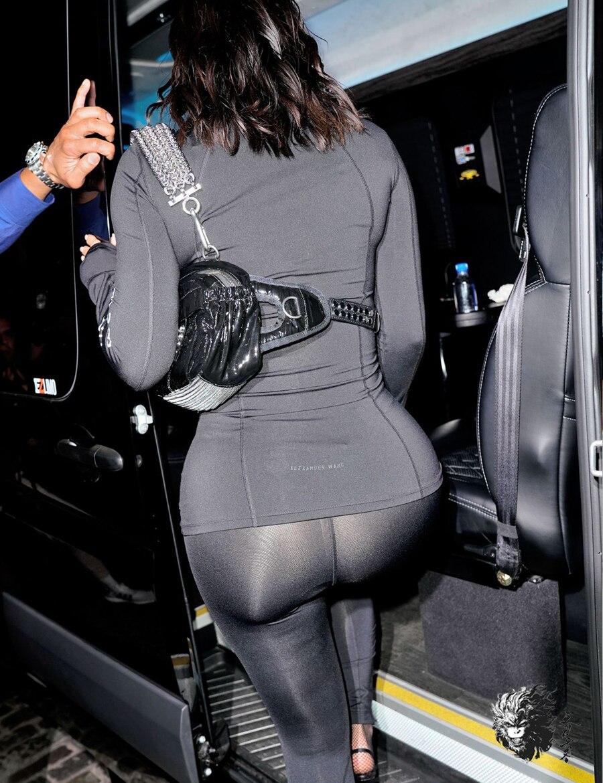 Roulé Manches Alphabet Skinny 2018 D'hiver Salopette À Leggings Noir Automne Imprimé Kylie Combinaisons Parti Col Jenner Wang Longues Sexy w0HqOP0Zx