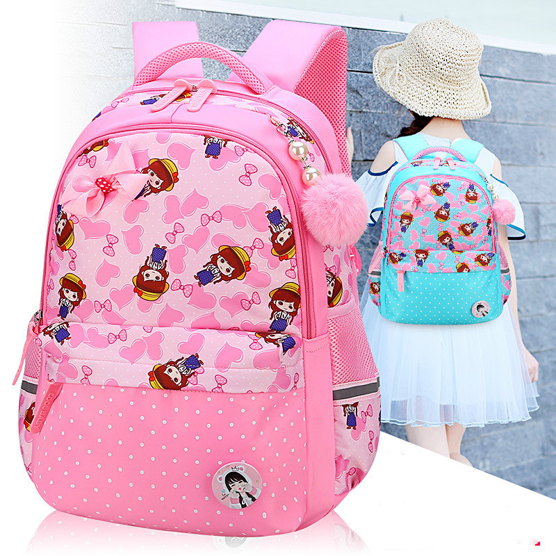 2018 kids schoolbags children School Bags Girls primary school Backpack kids satchel pri ...