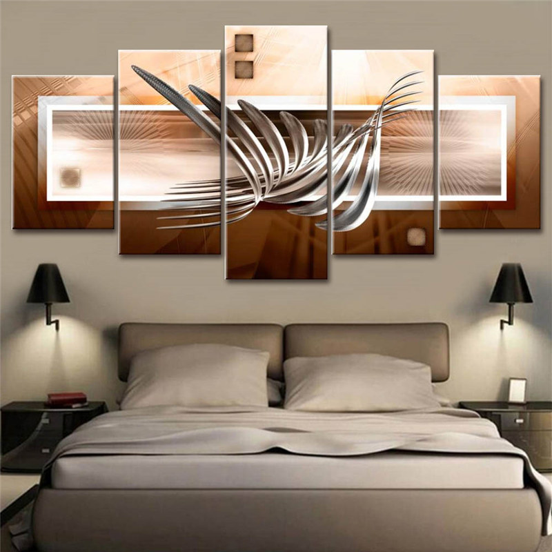 Cool Bedroom Modern Wall Art Painting Wallpaper Home Decor S