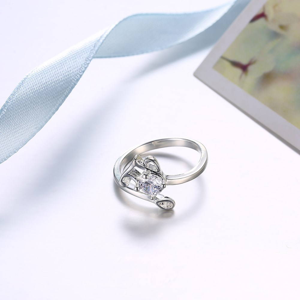 Stainless Steel Silver Plated Fashion trendsetting rings into the wholesale of e-commerce Fashion trendsetting rings in