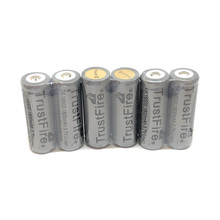 10pcs/lot TrustFire Protected TR 18500 3.7V 1800mAh Rechargeable Battery Lithium Batteries with PCB Board For E-cigarettes Torch Flashlights