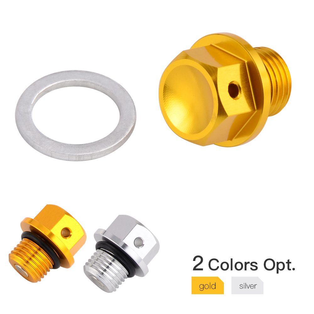 M12 Magnetic Oil Drain Plug Bolt For Suzuki LT-Z250 LT-A450X 08-15 LTZ400 03-14