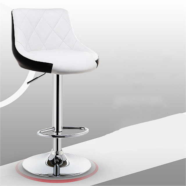 Fantastic Us 225 11 15 Off Aliexpress Com Buy Modern Simple Bar Chair Lifted Rotated Coffee Shop Stool Multi Function Cashier Seat With Footrest Household Inzonedesignstudio Interior Chair Design Inzonedesignstudiocom