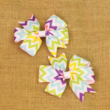 2pcs/lot baby girl hair bow flower children accessory baby barrettes hair accessories kids hairpins boutique hair clips headwear